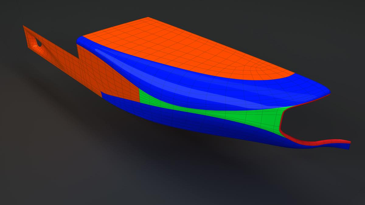 Souvent Dépliage UV Complexe - Voiture, Mécanique  IF99