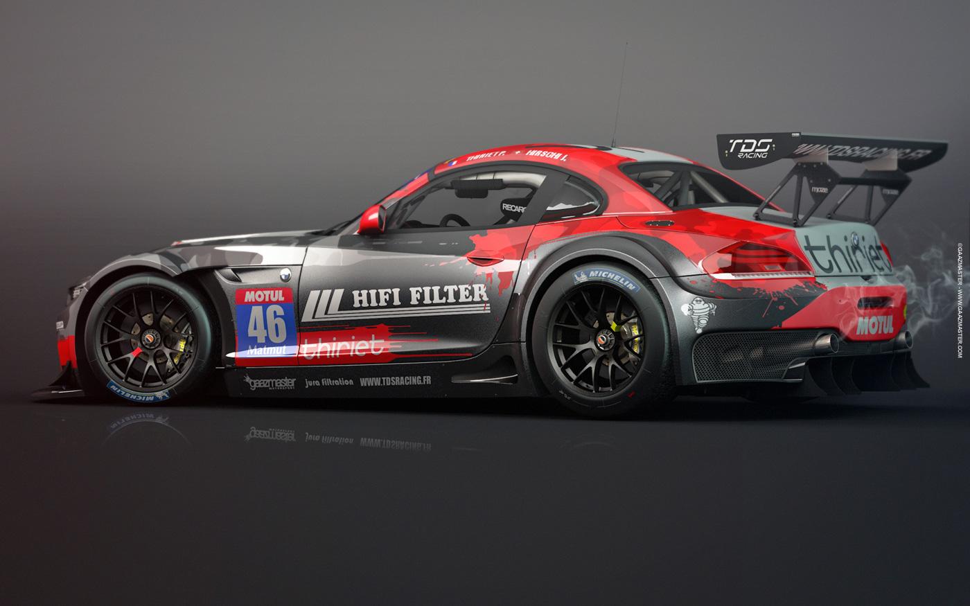 gaazmaster motorsport bmw z4 gt3 tds racing. Black Bedroom Furniture Sets. Home Design Ideas