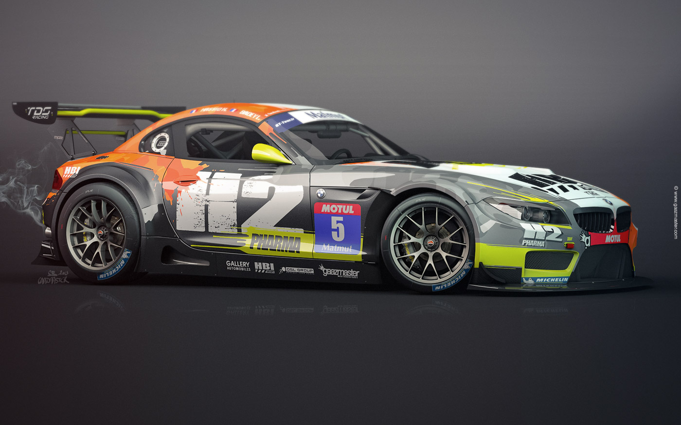 gaazmaster motorsport bmw z4 gt3 tds racing 2013. Black Bedroom Furniture Sets. Home Design Ideas