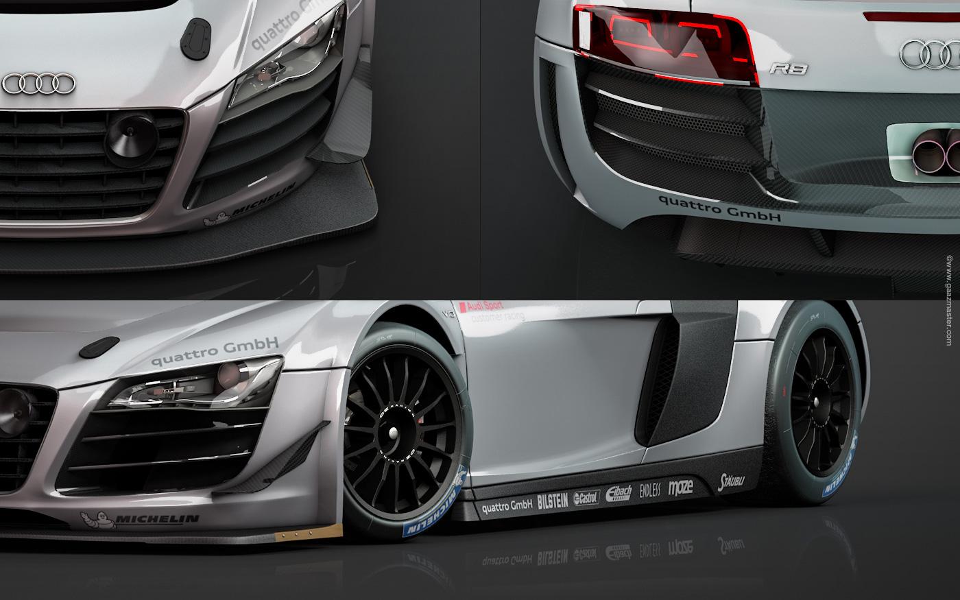 gaazmaster motorsport audi r8 lms ultra. Black Bedroom Furniture Sets. Home Design Ideas