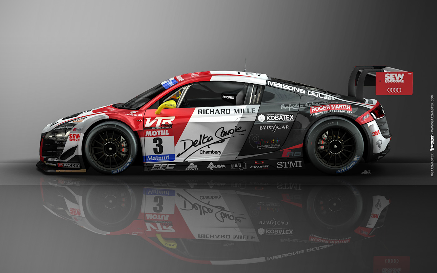 gaazmaster motorsport audi r8 lms ultra s bastien loeb racing. Black Bedroom Furniture Sets. Home Design Ideas