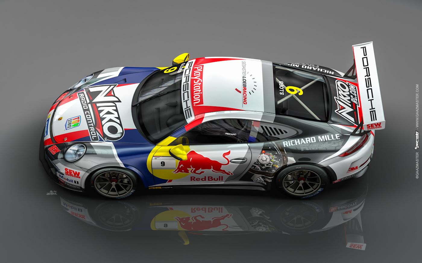 Gaazmaster Motorsport Porsche Supercup S 233 Bastien Loeb