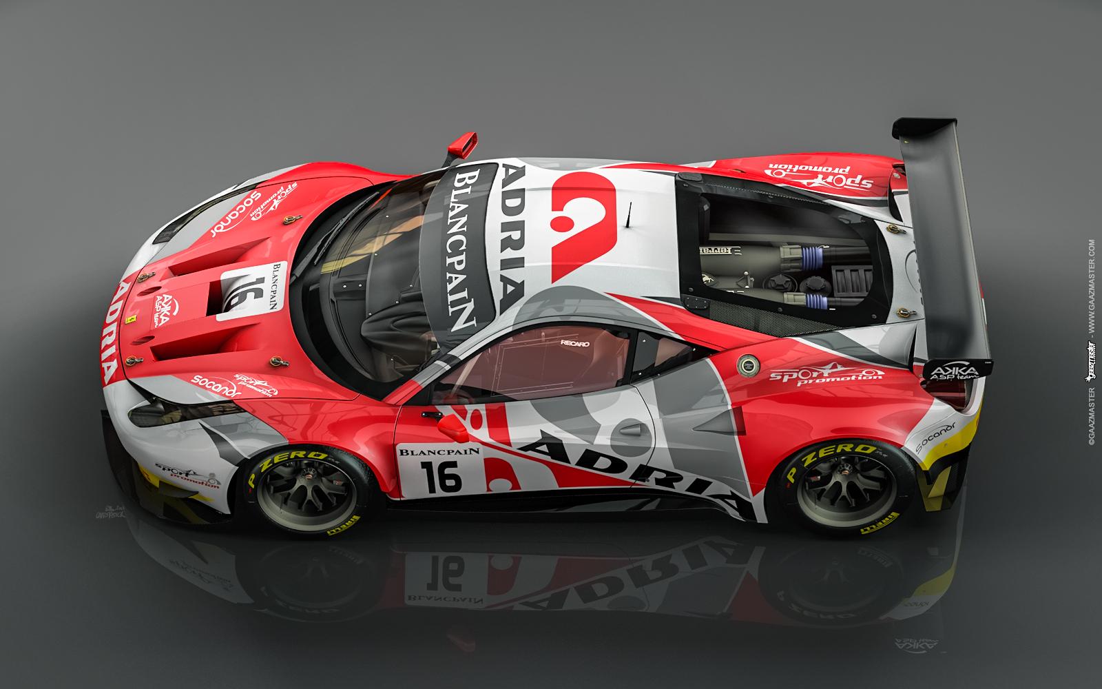 Gaazmaster Motorsport Ferrari 458 Gte Akka Asp