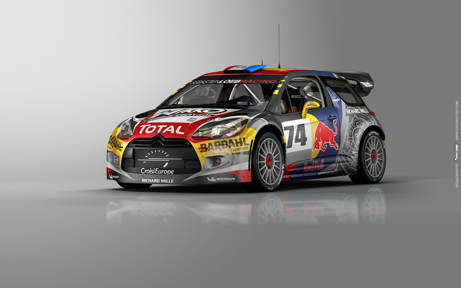 gaazmaster motorsport citroen ds3 wrc s bastien loeb. Black Bedroom Furniture Sets. Home Design Ideas